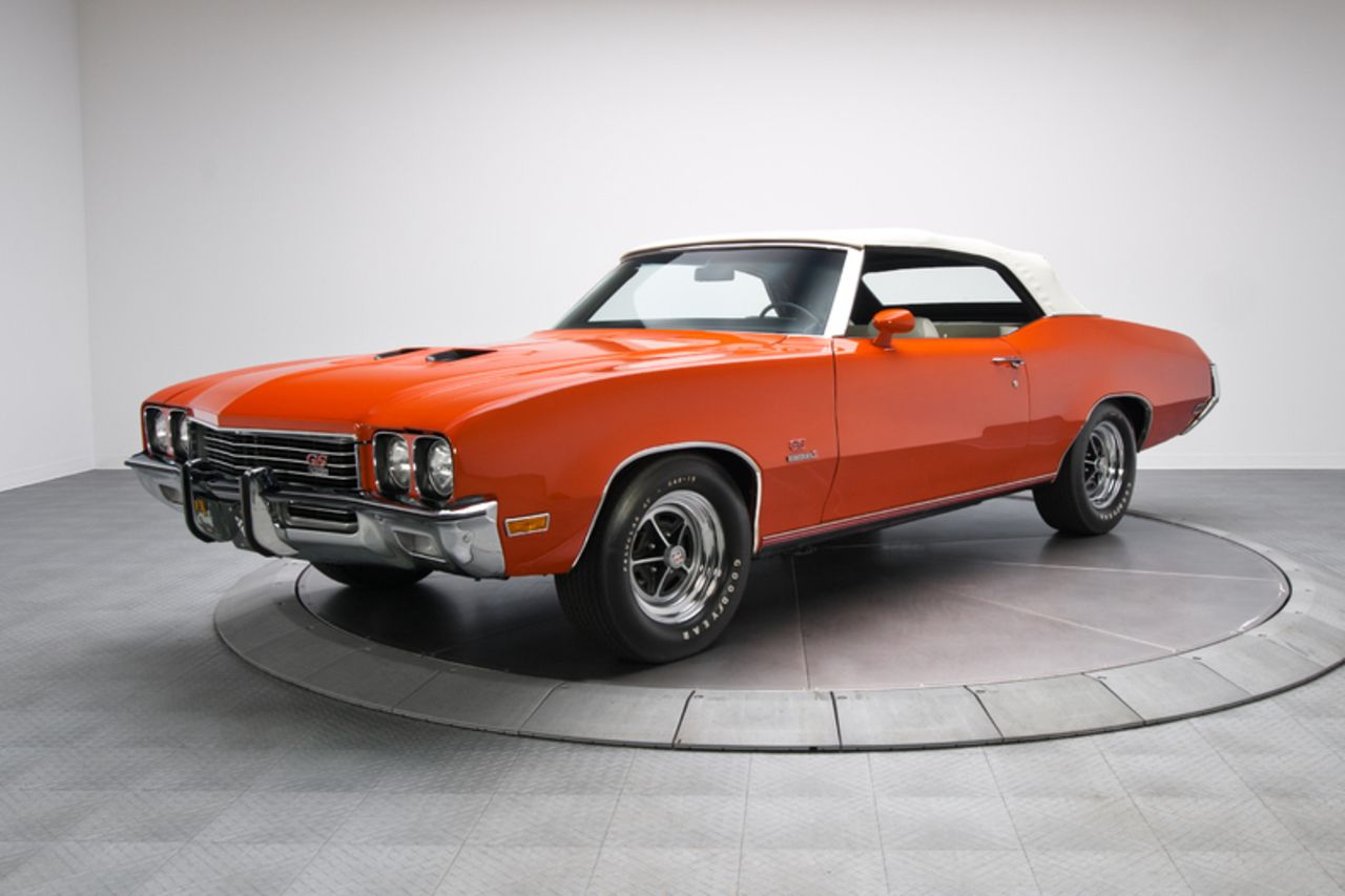 1972 Buick GS Stage 1 Convertible Buick gs, Muscle cars