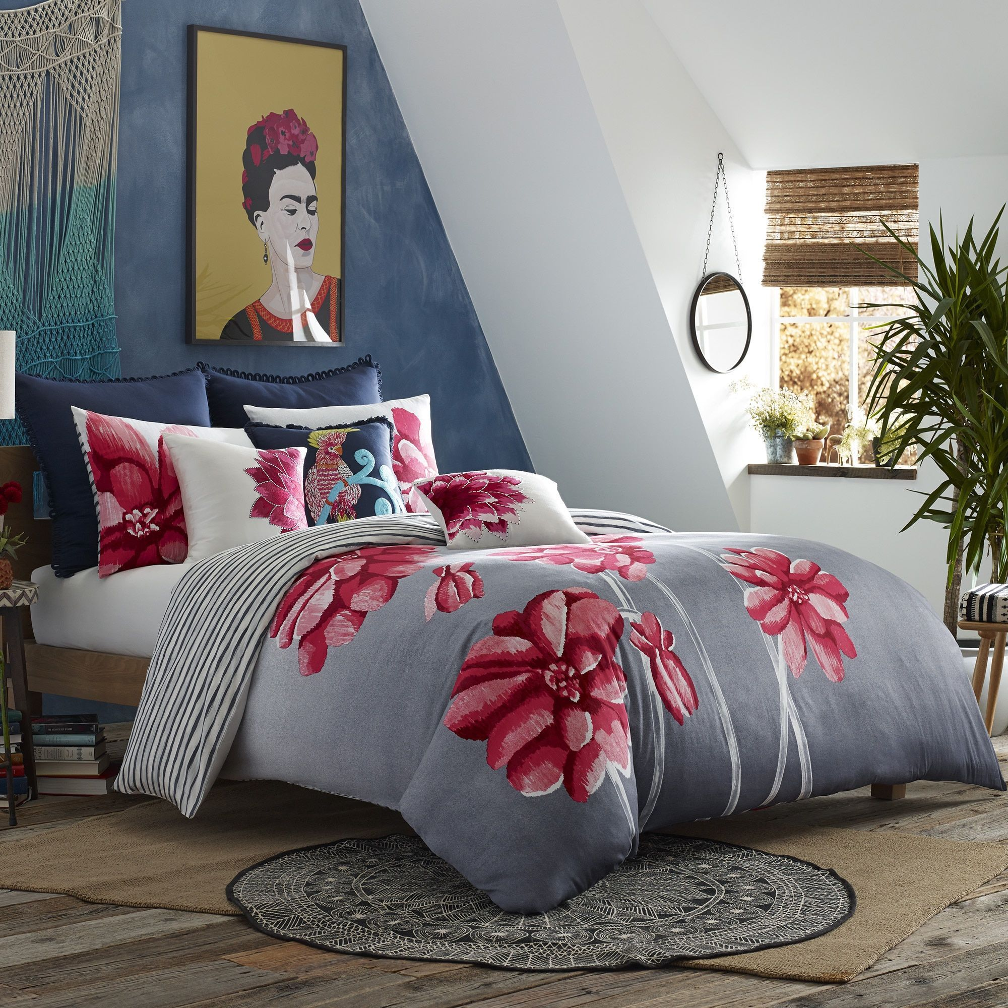 cream king waffle cover charlbury rose set duvet size chloe covers covercream dunelmcream dorma collection
