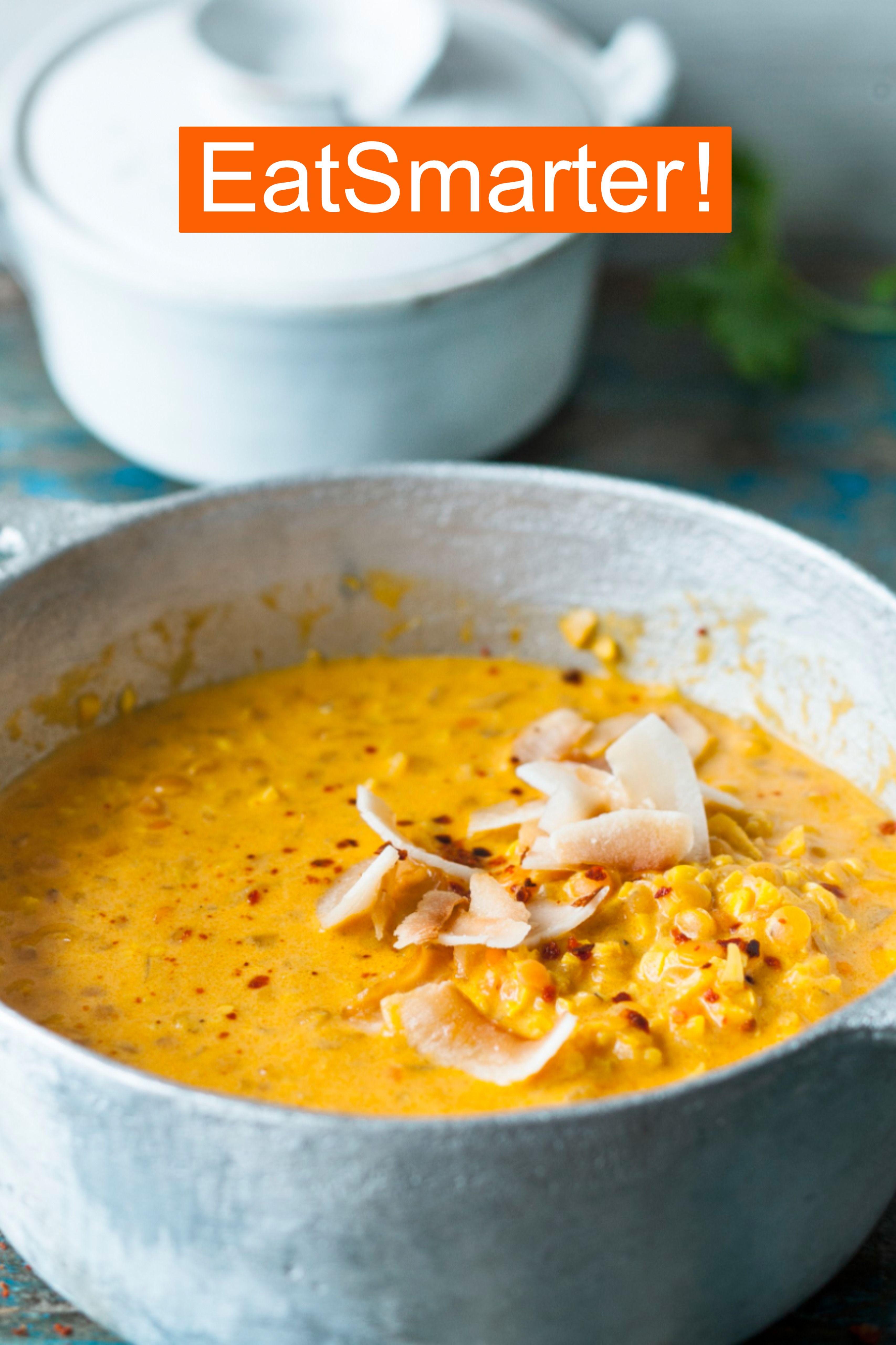Schnelles Feierabend Rezept für Curry-Linsen-Dal | EAT SMARTER