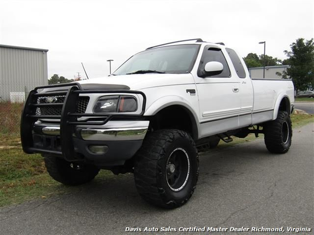 2000 Ford F 150 Lariat Lifted 4x4 Extended Cab Long Bed 7 995