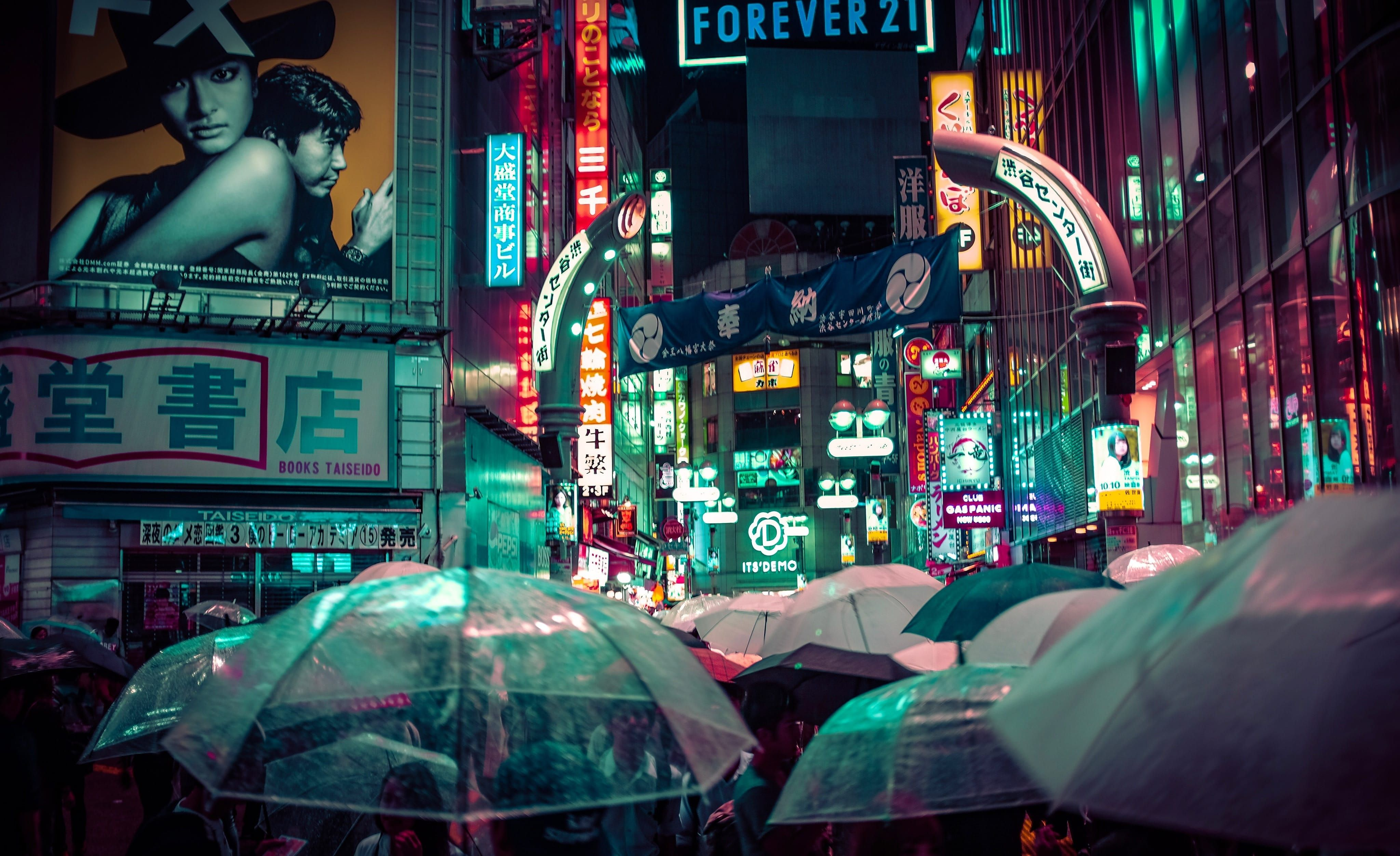 Umbrellas In Tokyo One Of The Best Cities To Visit In Japan Scenic Travel Travel Photos Japan Picture