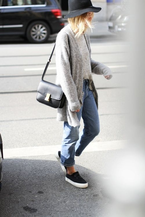 20 Style Tips On How To Wear Slip On Sneakers Mode  Fashion
