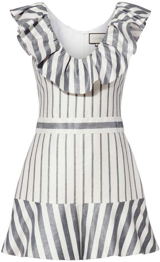 03a5b45bb71 Alexis Tamiko Striped Romper
