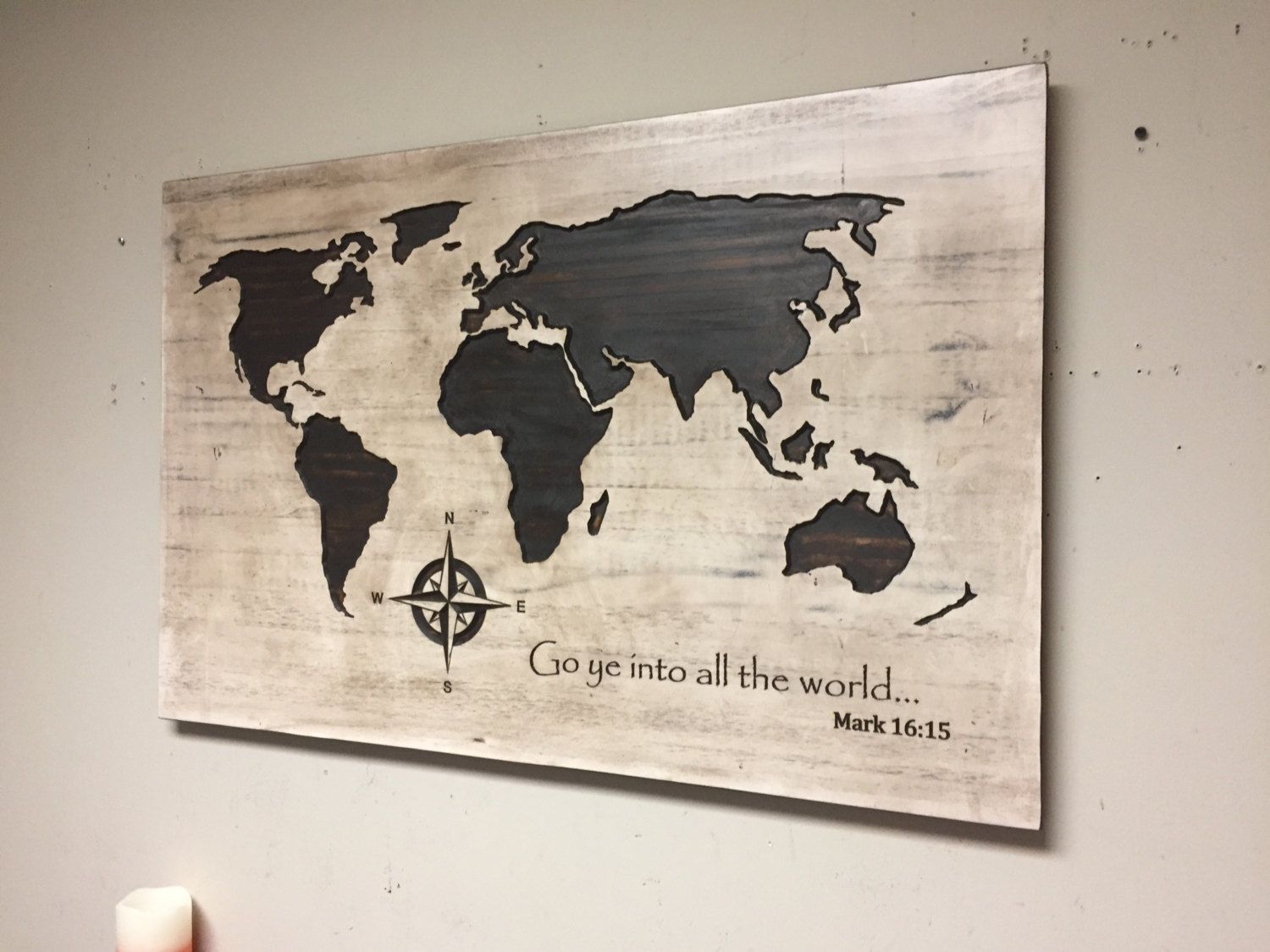 Wood wall art carved world map spiritual wall decor biblical wood wall art carved world map spiritual wall decor biblical custom bible amipublicfo Images