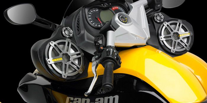 SlamPak from JL Audio for your Can-Am...crystal clear tunes for the open road!