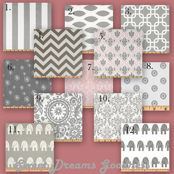 Design your own Custom Crib Bedding  Storm by SweetDreamsGoodness, $245.00