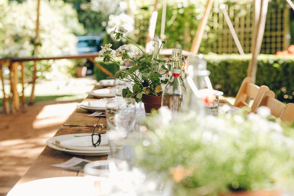 Harriet Holling Bridal With Bridesmaids In All White Tent Wedding ReceptionsSwallowsSheffieldMarylandWhite