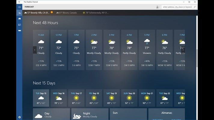 The popular weather app can be downloaded now from the