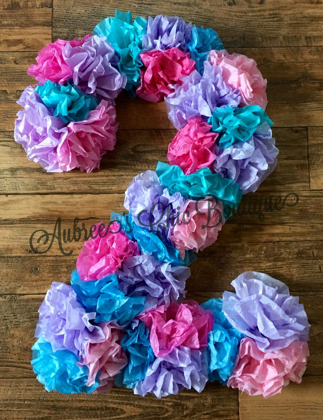 Doc McStuffins Inspired Tissue Paper Birthday Number