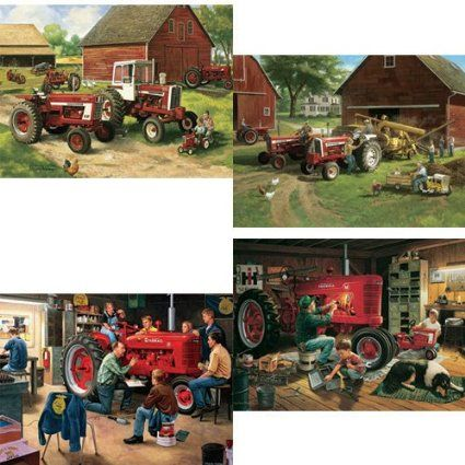 Karmin International Farmall Tractor Series 500 Piece Jigsaw