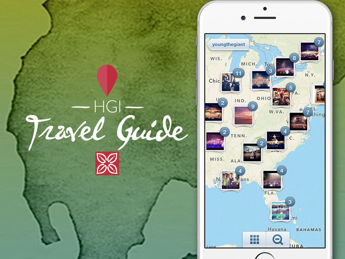 Hilton Garden Inn Introduces First Ever Instagram Based Photo Map Guide Filled With Bright Travel Ideas And Inspiration Photo Maps Hilton Garden Inn Photo