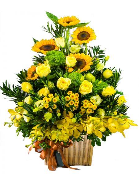Tuyệt Chiêu Chọn Giỏ Hoa Chúc Mừng Lễ Tốt Nghiệp Độc Đáo ...