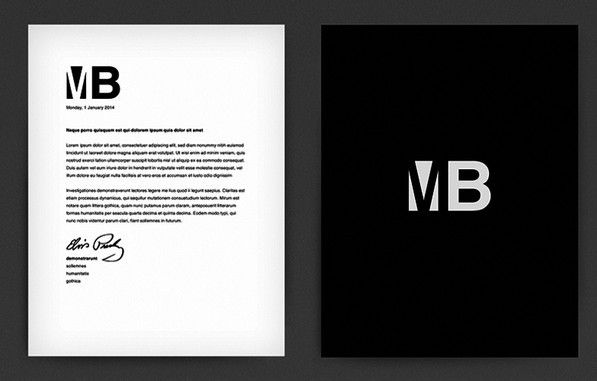 Free Customizable Letterhead PSD Mockup » TitanUI