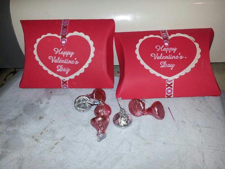 Pillow Box Valentines