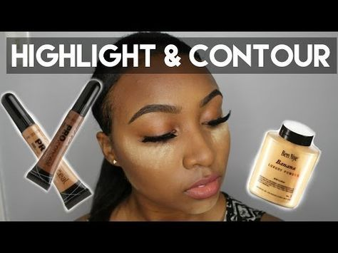 updated contour and highlight  foundation for black women