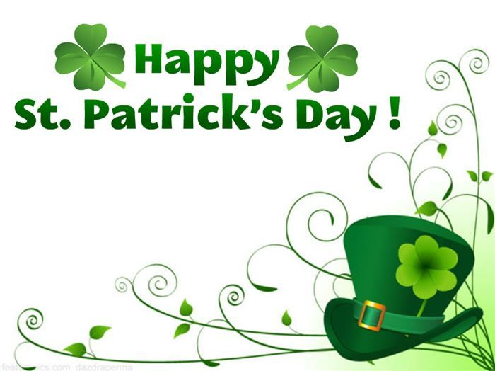 graphic regarding Free Printable Clipart for St Patrick's Day named Free of charge st patrick working day clip artwork - ClipartFest St. Patricks
