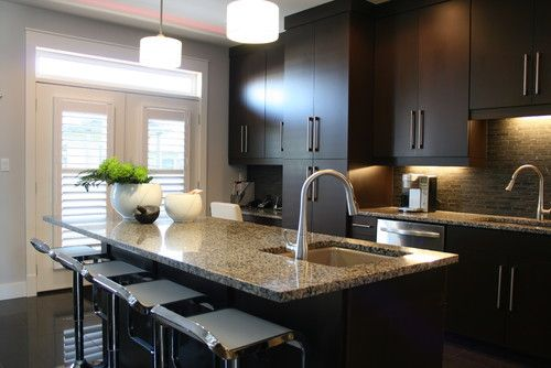 Love these dark cabinets. But then what do you suggest for floors? Donu0027t want too much dark & Love these dark cabinets. But then what do you suggest for floors ...