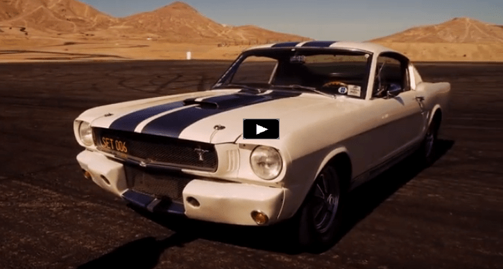 Cool 1965 Shelby Gt350 Making Noise In The Desert Hot Cars