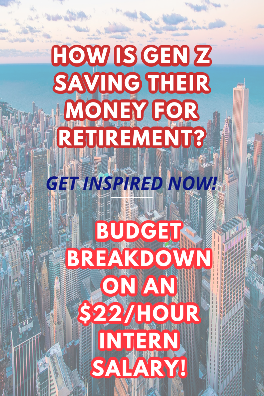 Inspiration for college students and interns on how to maximize savings for big purchases and retirement.   [CLICK THE YOUTUBE LINK NOW!] #startnow #moneysavingtips #saving money #savingsplan #passiveincome #financialplanning #frugalliving #moneysavers #college #salary #intern #fire #financialindependence