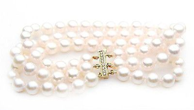 5b255663766f3f $5,999 Pacific Pearls® AAA 7.5-8mm Japanese Akoya Saltwater Pearl Bracelet