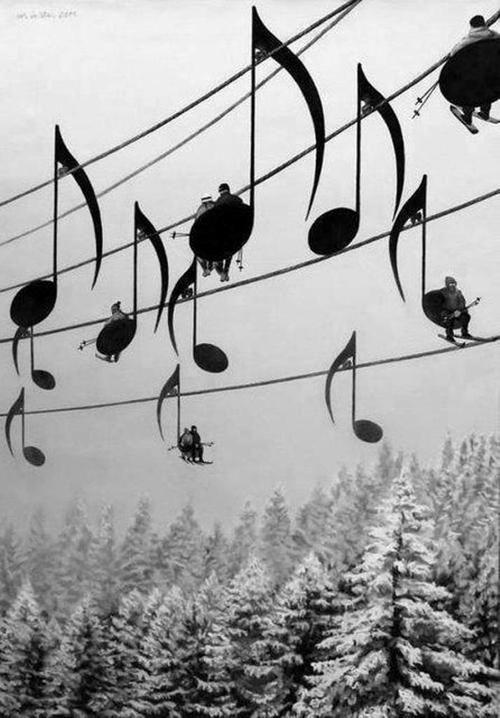 Estação de Esqui Musical