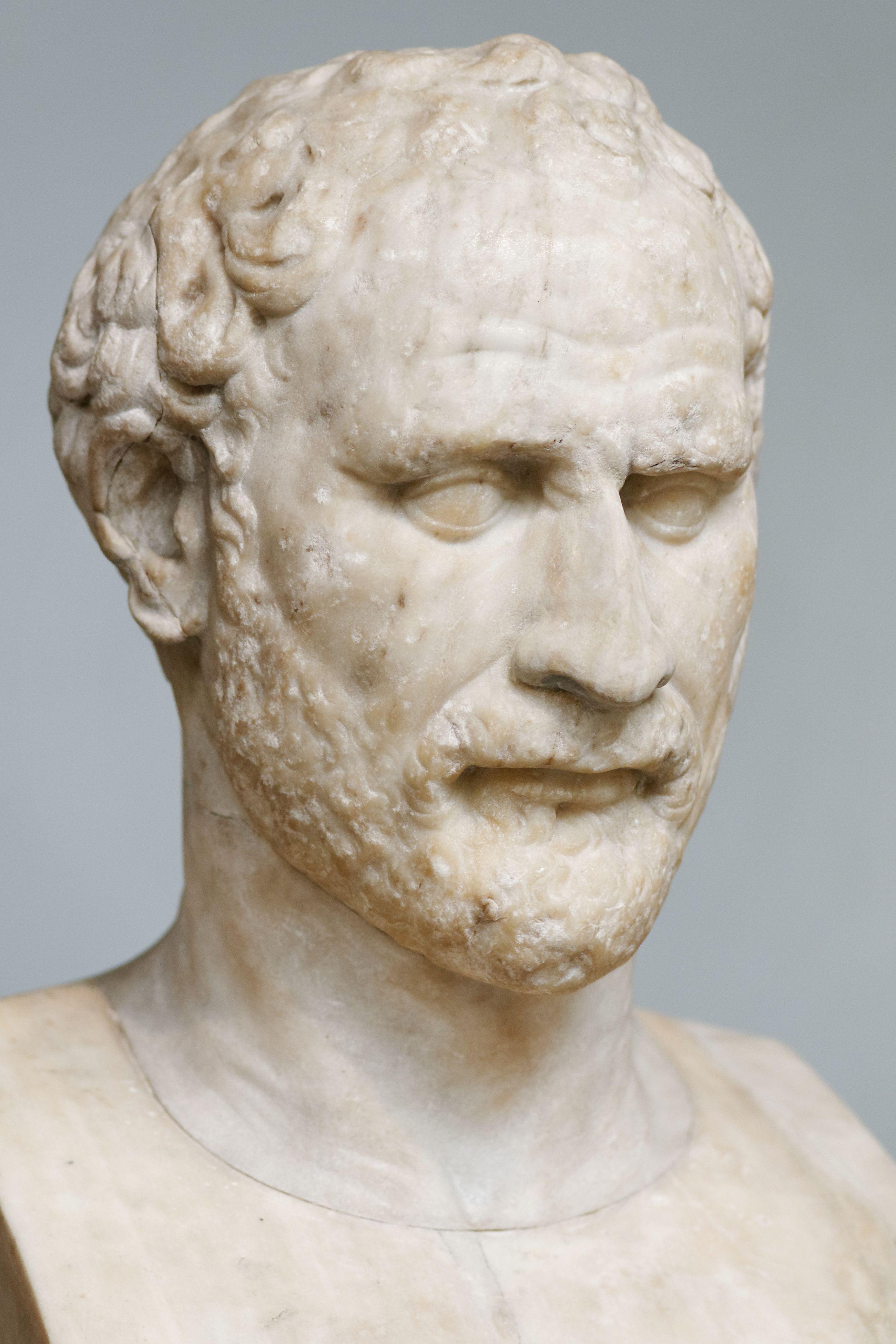 3eb17cac46773 Bust of Demosthenes (Athenian statesman   orator