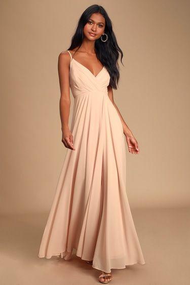 18++ Blush pink maxi dress ideas in 2021