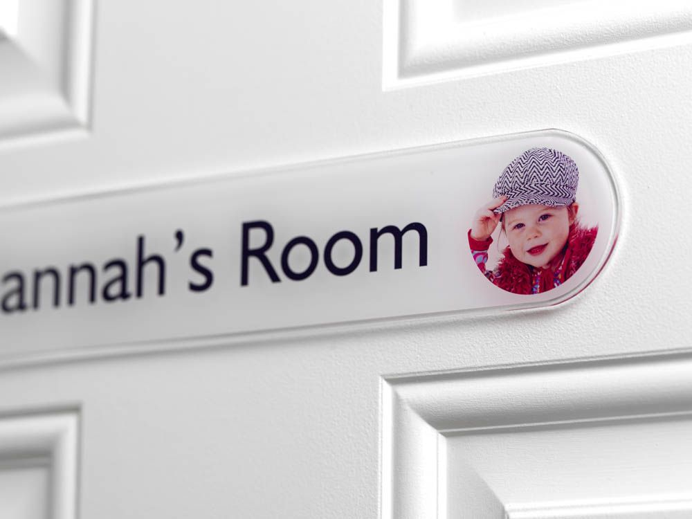 Bedroom Door Signs for Girls and Boys Personalised with any ...
