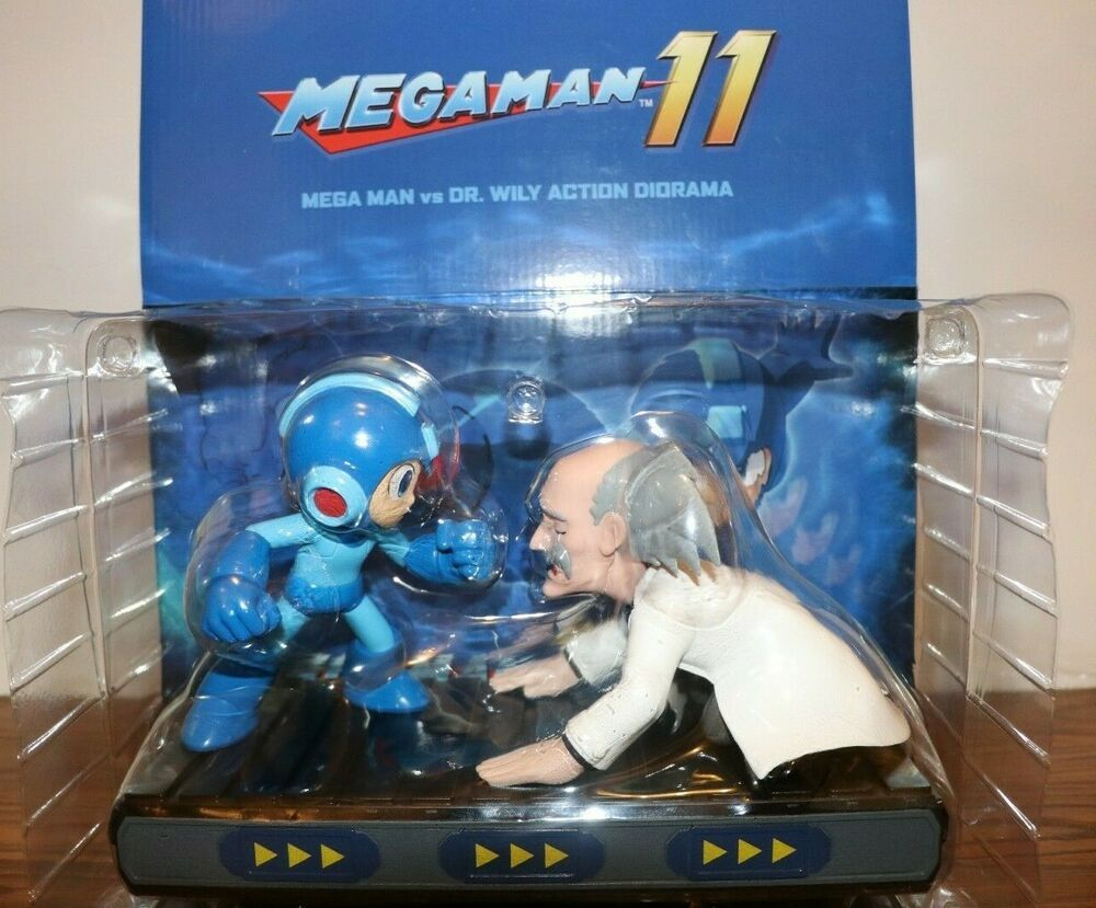 Action Figure Dr Wily Mega Man 5 Inch