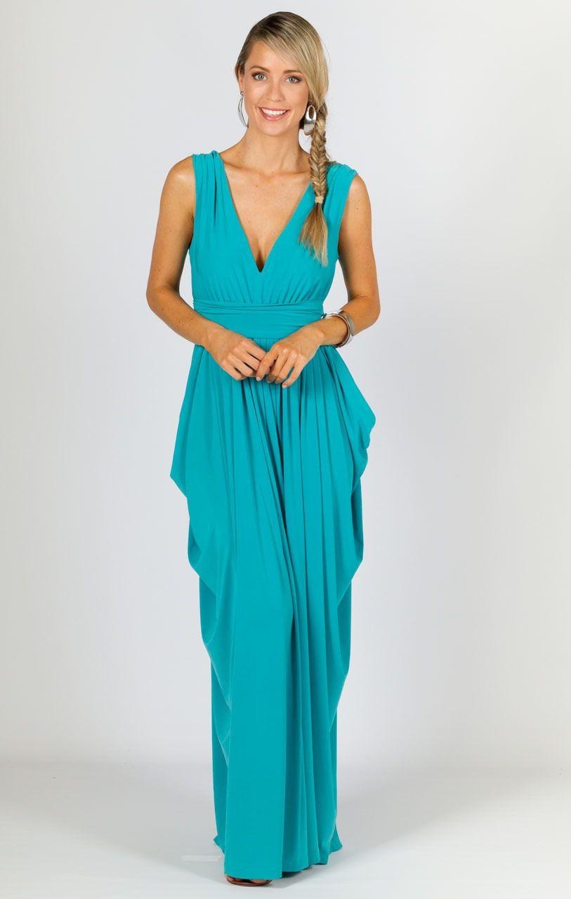 Aphrodite Maxi Dress - Aqua - P.S. Frocks | pretty clothes ...