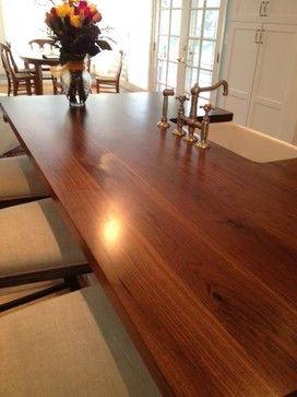 Butcher Block Vs Granite Counter Tops Diy Wood Countertops