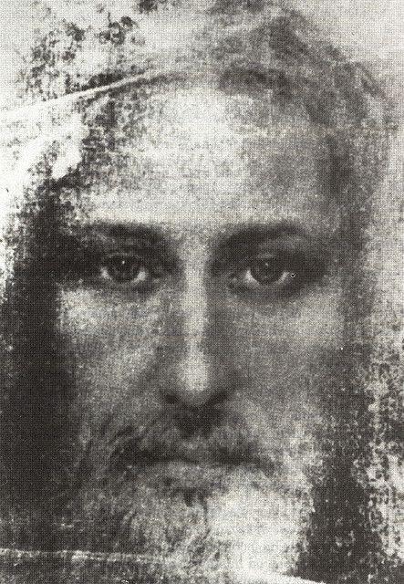 Jesus face of shroud The Shroud