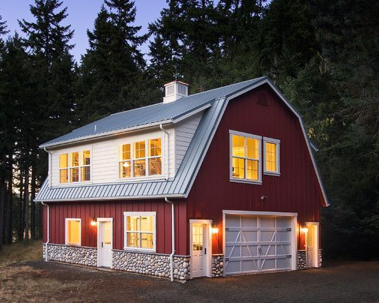 Pole Shed Designs | Pole Barn House Design | Homes | outbuildings ...