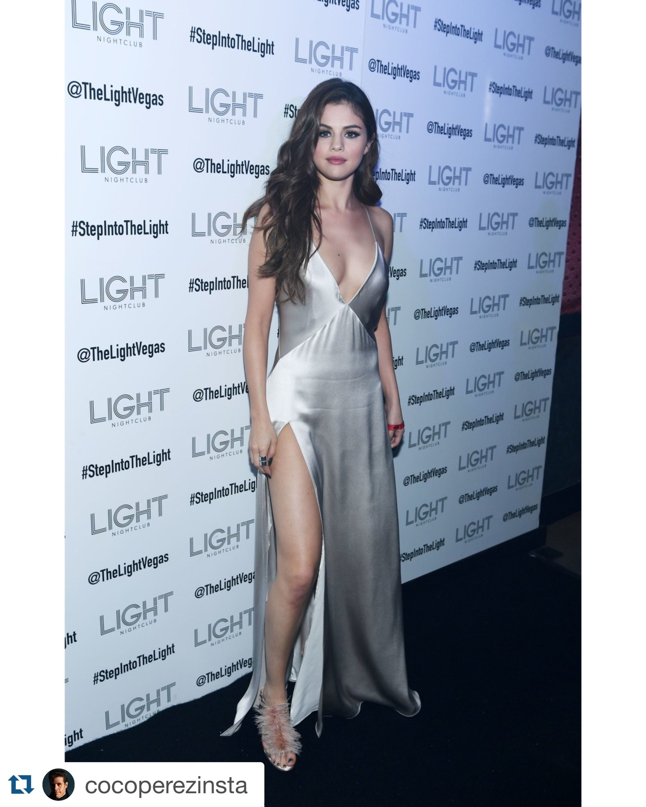 Selena Gomez giving us that Angelina Jolie leg and sex!! https://www ...