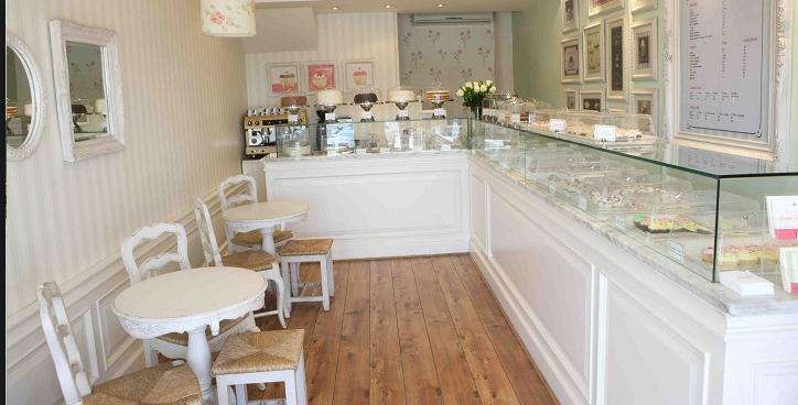White Interior · Bakery Shop DesignBakery Interior DesignSmall ...