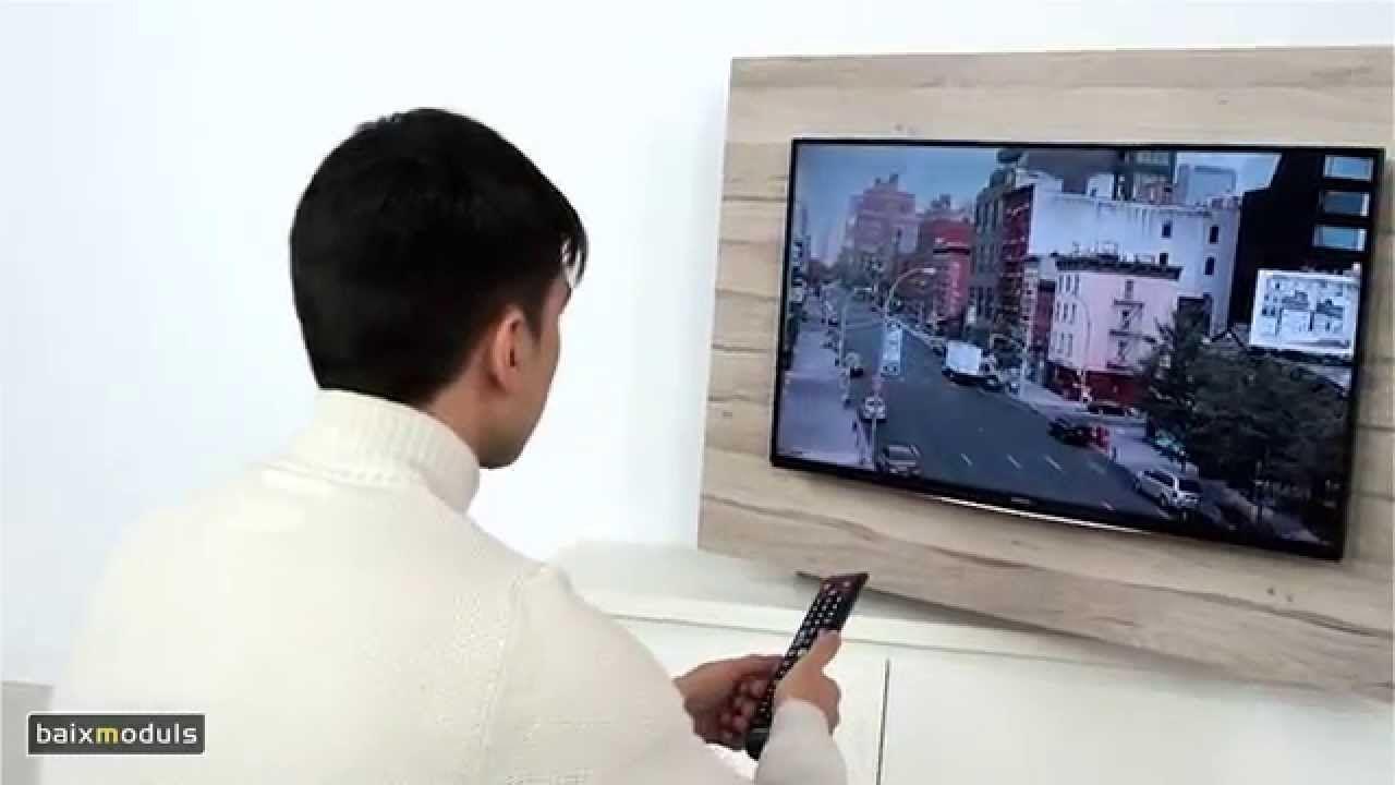 Mueble Television Giratorio Mod 103 Youtube Decor Ideas  # Muebles Giratorios Para Tv