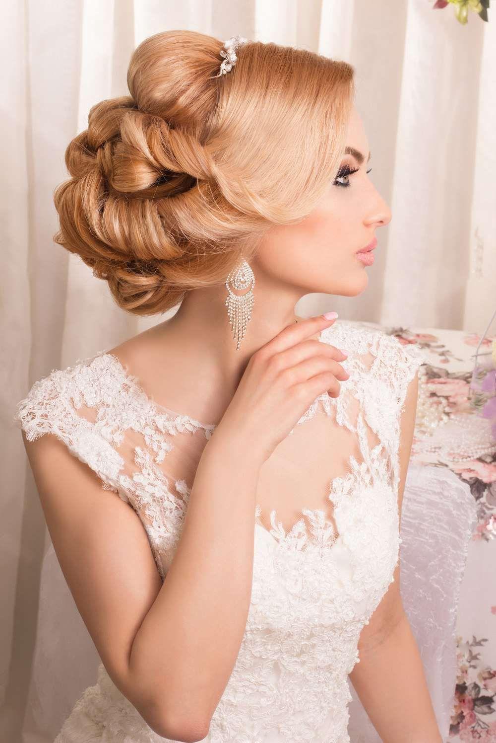 Свадебные причёски : Ретро стиль фото : 2122 идей 2017 ...