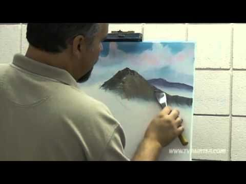 How to paint a mountain visit tvpainter.com