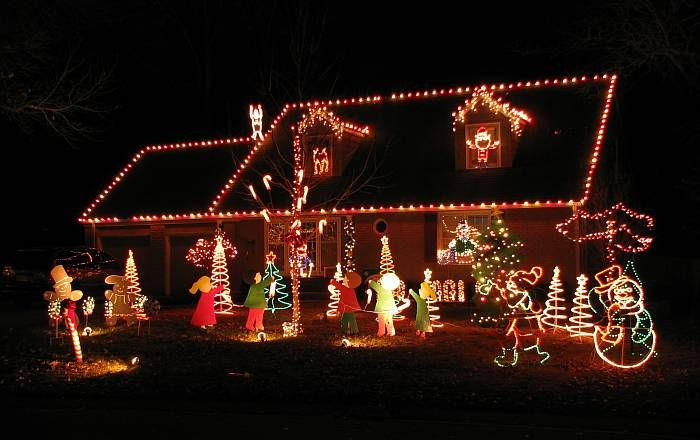 Candy Cane Lane In Prairie Village, Kansas Has Recovered From Several Years  Of Dwindling Displays. This Is The Year Of Candy Cane Lane Christmas  Holiday ...