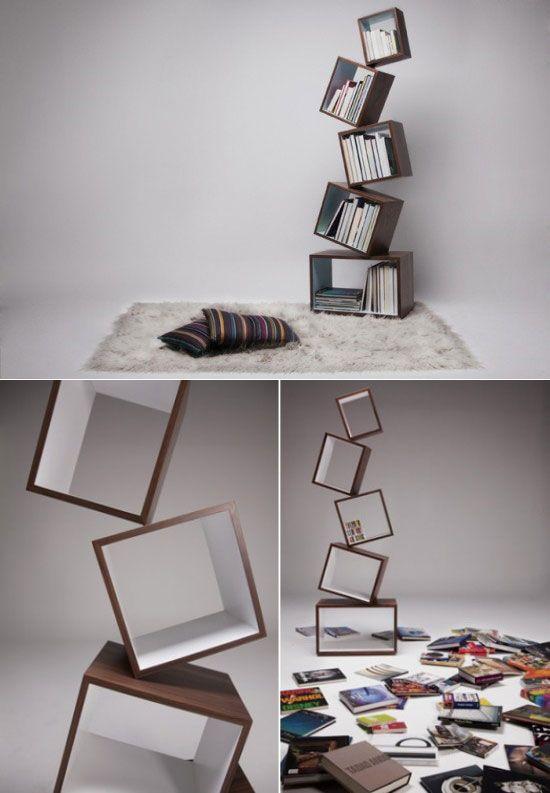 Unique Book Shelf cool and unique bookshelves designs for inspiration   unique