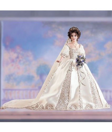 Faberge Russian Imperial  Bride  Doll Natalia- Franklin Mint - New