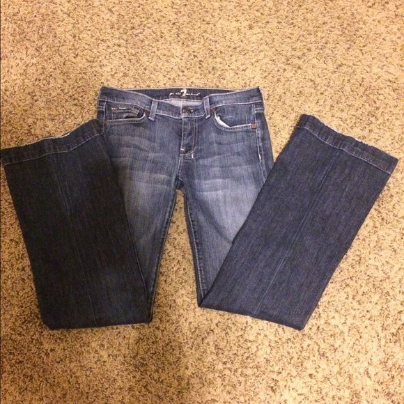 Jeans Still in great condition they are an 8 long Seven7 Jeans Boot Cut