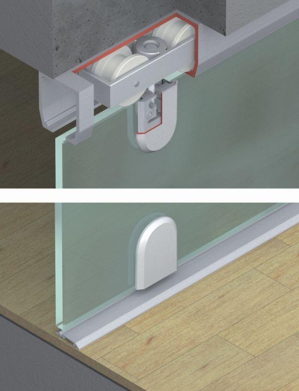 Hafele 941 60 005 Sliding Glass Door Doors Storage
