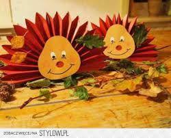 Znalezione Obrazy Dla Zapytania Jesienne Dekoracje Z Papieru Autumn Crafts Preschool Crafts Fall Crafts