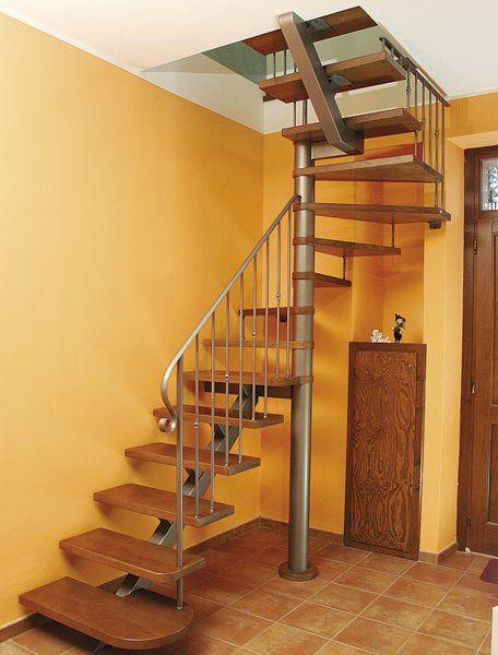 Risultati immagini per scale quadrate scale pinterest - Scale a chiocciola foto ...