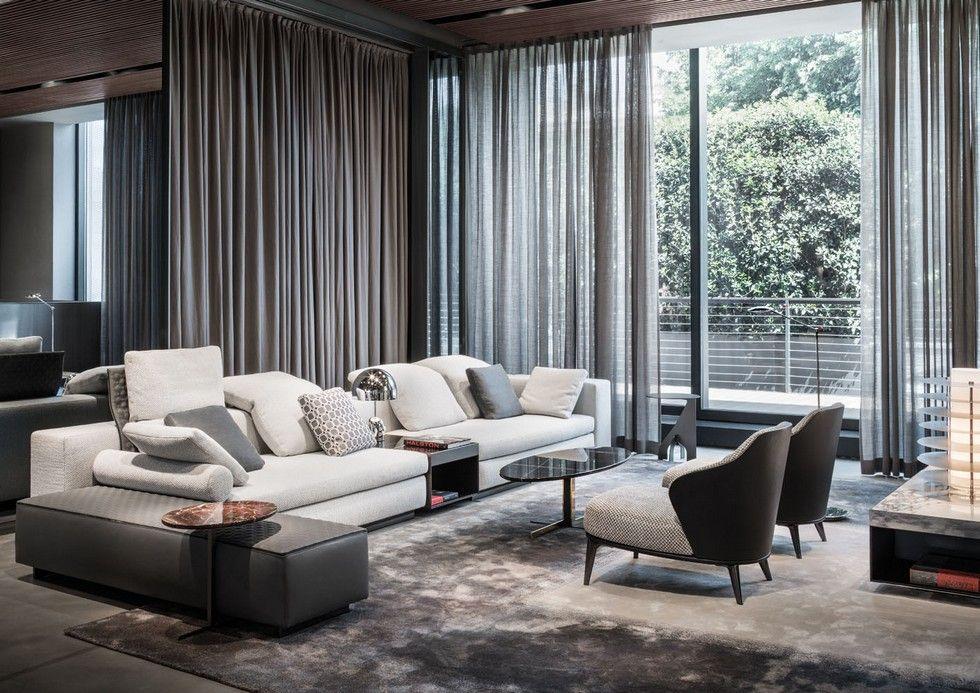 pin von wohnenmitklassikern auf minotti m bel in 2018 pinterest wohnzimmer raumdesign und couch. Black Bedroom Furniture Sets. Home Design Ideas