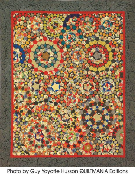 **No instructions, paper pieces only; instructions are found in Millefiori Quilts by Willyne Hammerstein. StarterPiece Pack SMALL includes approximately 465 Pr