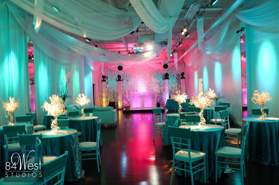 exceptional sweet sixteen decorations 5 blue sweet 16 party