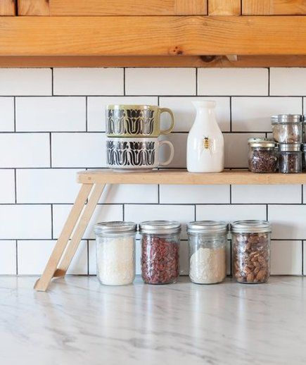 8 ways to create extra counter space in a tiny kitchen in on creative space saving cabinets and storage ideas id=62138
