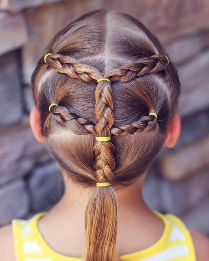 Pin By Rachel Goote On Ingrid Peinados K Hair Styles Girl Hair Dos Little Girl Hairstyles